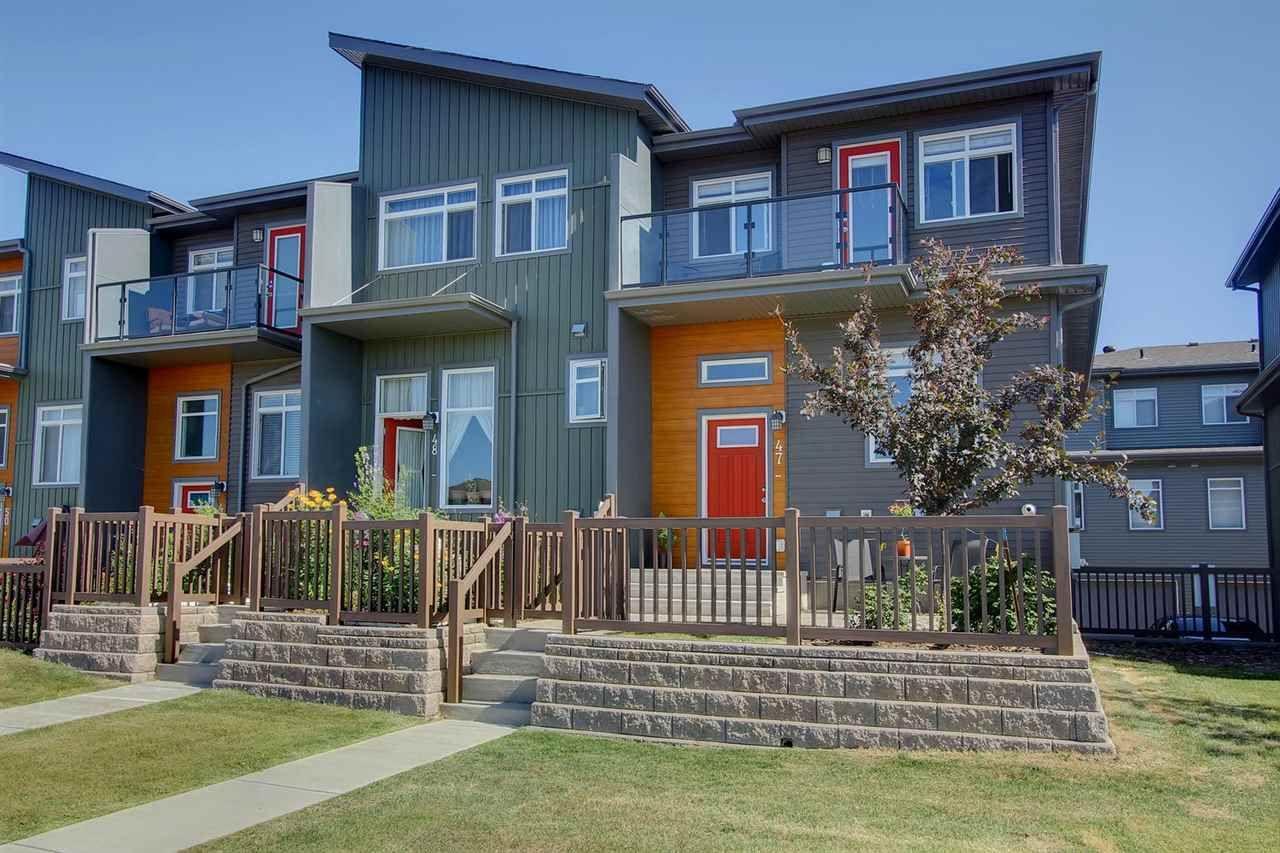 Main Photo: 7503 GETTY GA NW in Edmonton: Zone 58 Townhouse for sale : MLS®# E4075410