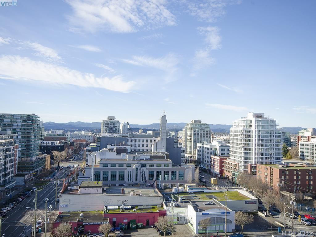 Main Photo: 1207 930 Yates St in VICTORIA: Vi Downtown Condo for sale (Victoria)  : MLS®# 777401
