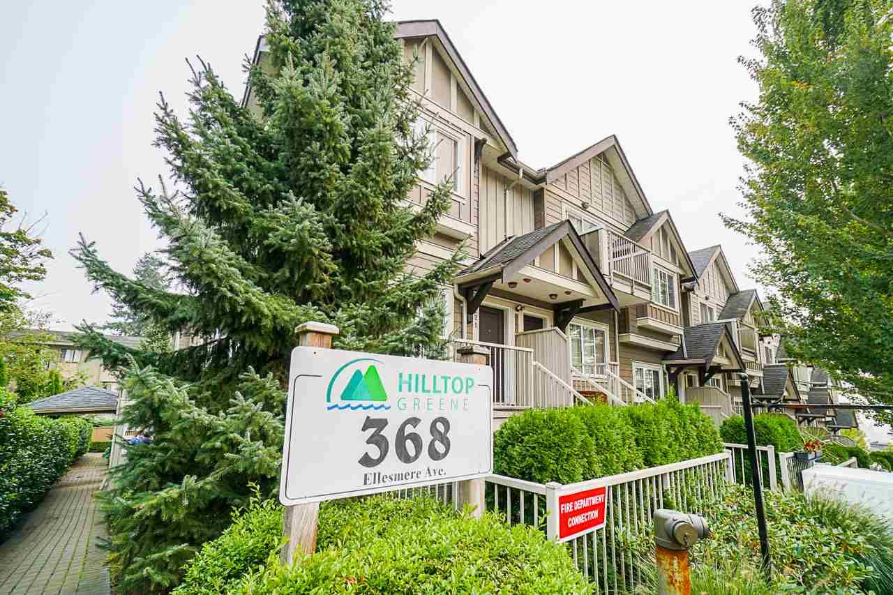 """Main Photo: 109 368 ELLESMERE Avenue in Burnaby: Capitol Hill BN Townhouse for sale in """"HILLTOP GREENE"""" (Burnaby North)  : MLS®# R2500245"""