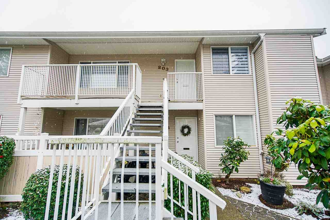 Main Photo: 203 13947 72 AVENUE in Surrey: East Newton Townhouse for sale : MLS®# R2554308
