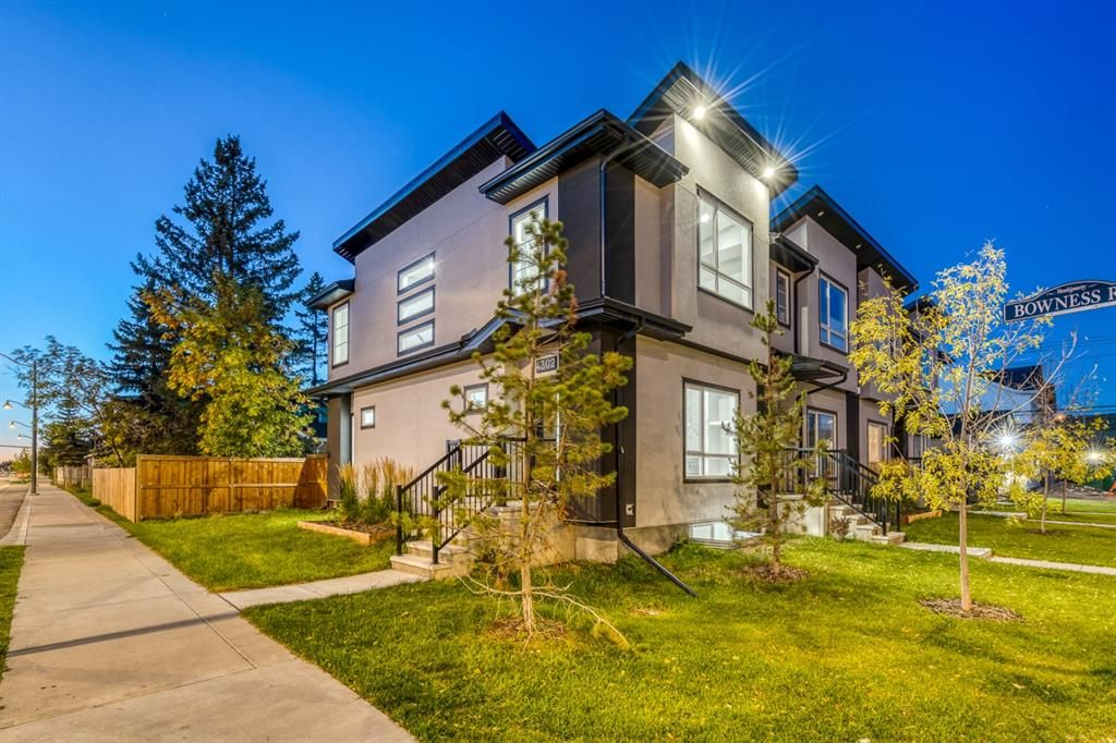 Main Photo: 4302 Bowness Road NW in Calgary: Montgomery Row/Townhouse for sale : MLS®# A1148589