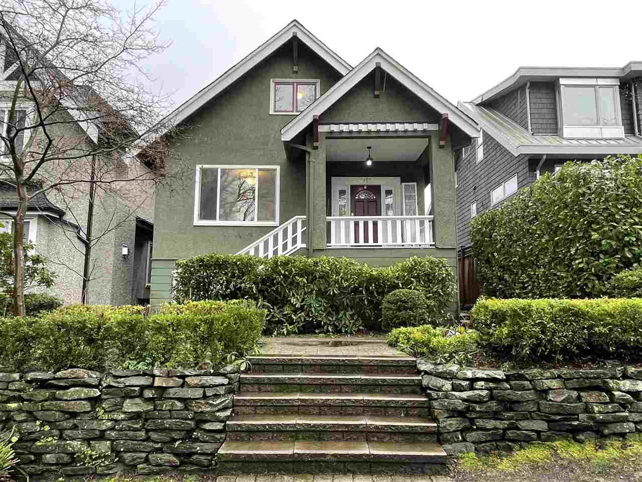 Main Photo: 4150 W 14TH Avenue in Vancouver: Point Grey House for sale (Vancouver West)  : MLS®# R2535871