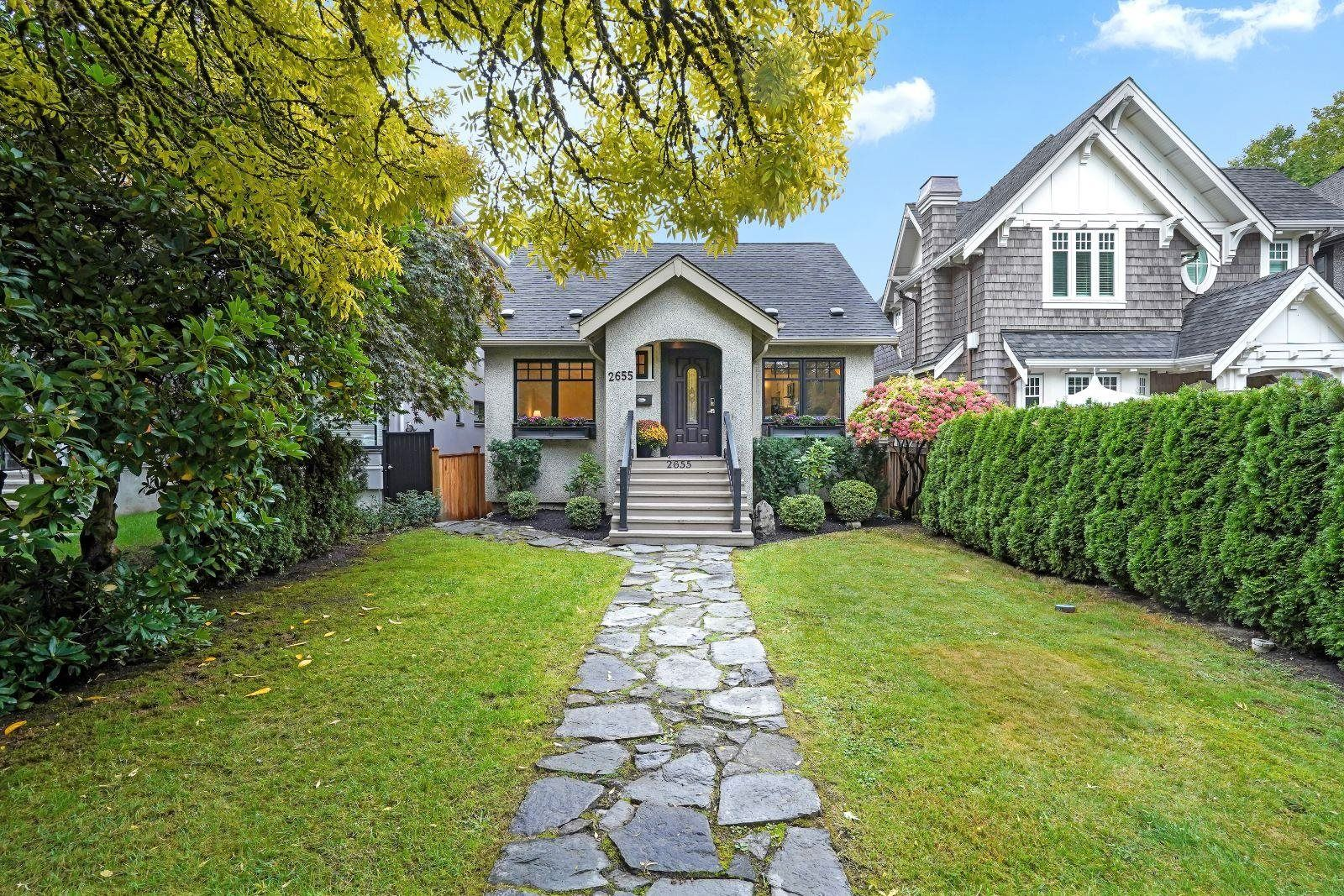 Main Photo: 2655 WATERLOO Street in Vancouver: Kitsilano House for sale (Vancouver West)  : MLS®# R2619152