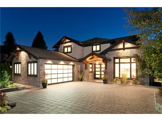 Photo 1: 2893 AURORA RD in North Vancouver: Capilano Highlands House for sale : MLS®# V971457
