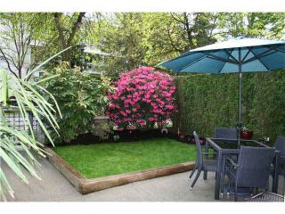 """Photo 1: 105 3600 WINDCREST Drive in North Vancouver: Roche Point Townhouse for sale in """"RAVEN WOODS"""" : MLS®# V1101013"""