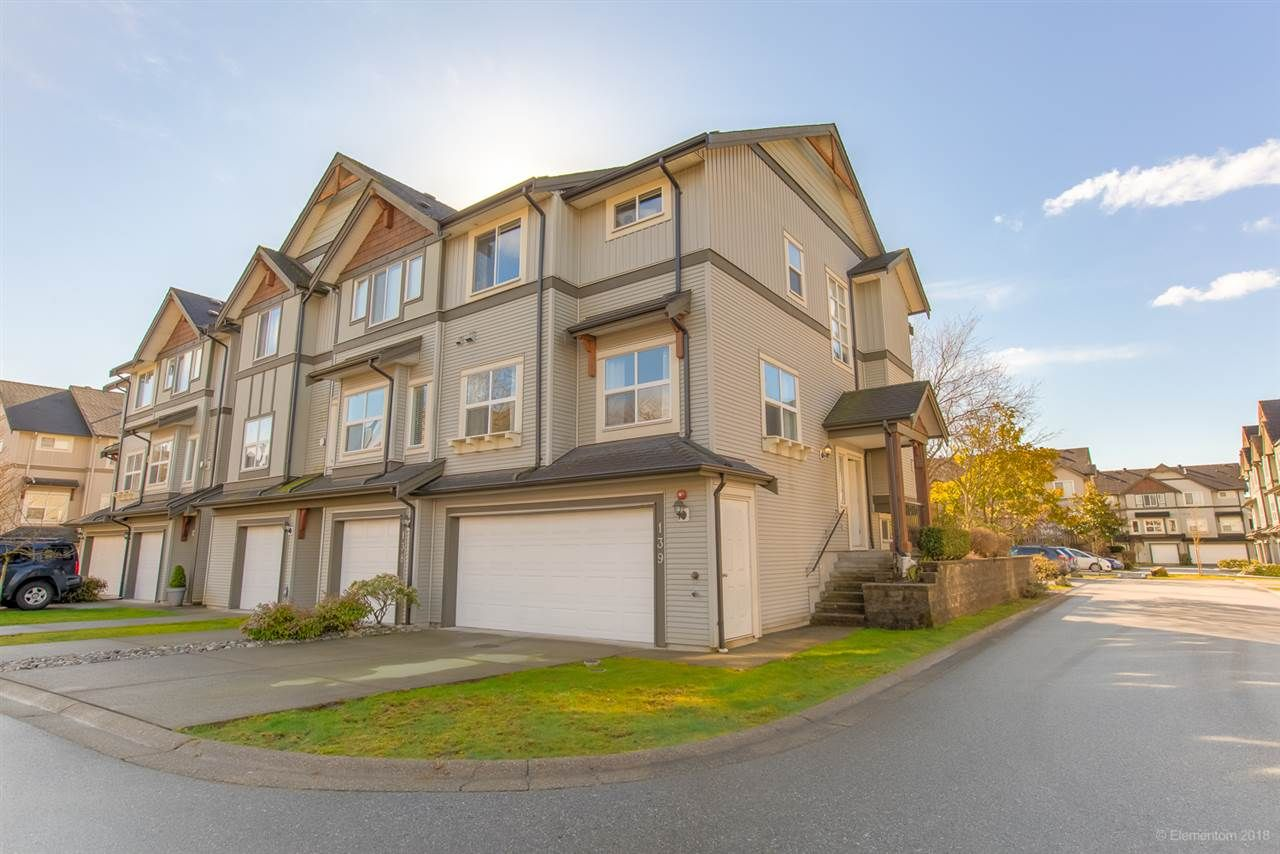 Main Photo: 139-1055 Riverwood Gate in Port Coquitlam: Riverwood Townhouse for sale : MLS®# R2444574