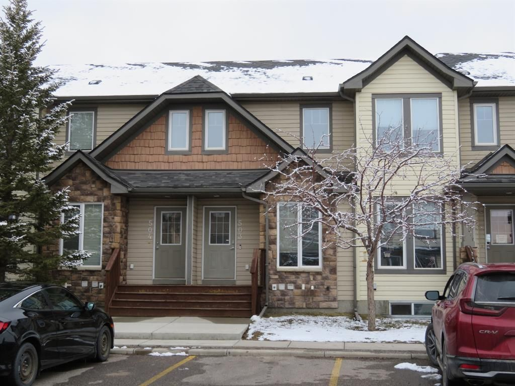 Main Photo: 503 2445 Kingsland Road SE: Airdrie Row/Townhouse for sale : MLS®# A1093167