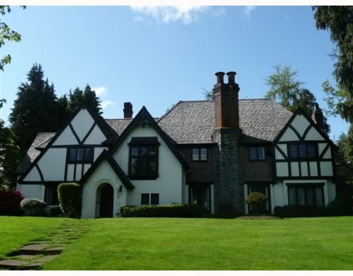 Main Photo: 1678 SOMERSET CR in Vancouver: House for sale : MLS®# V809964