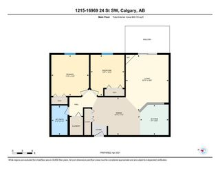 Photo 25: 1215 16969 24 Street SW in Calgary: Bridlewood Apartment for sale : MLS®# A1092364
