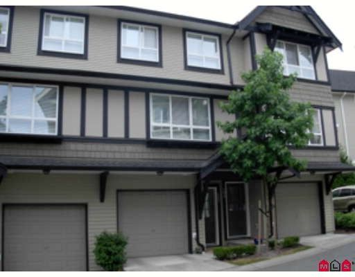 """Main Photo: 107 6747 203RD Street in Langley: Willoughby Heights Townhouse for sale in """"Sagebrook"""" : MLS®# F2822949"""