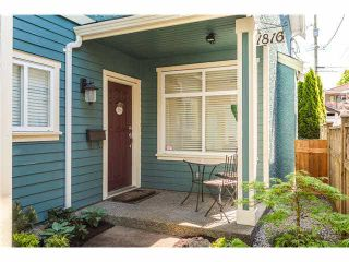 Main Photo: 1816 E 13TH Avenue in VANCOUVER: Grandview Woodland 1/2 Duplex for sale (Vancouver East)