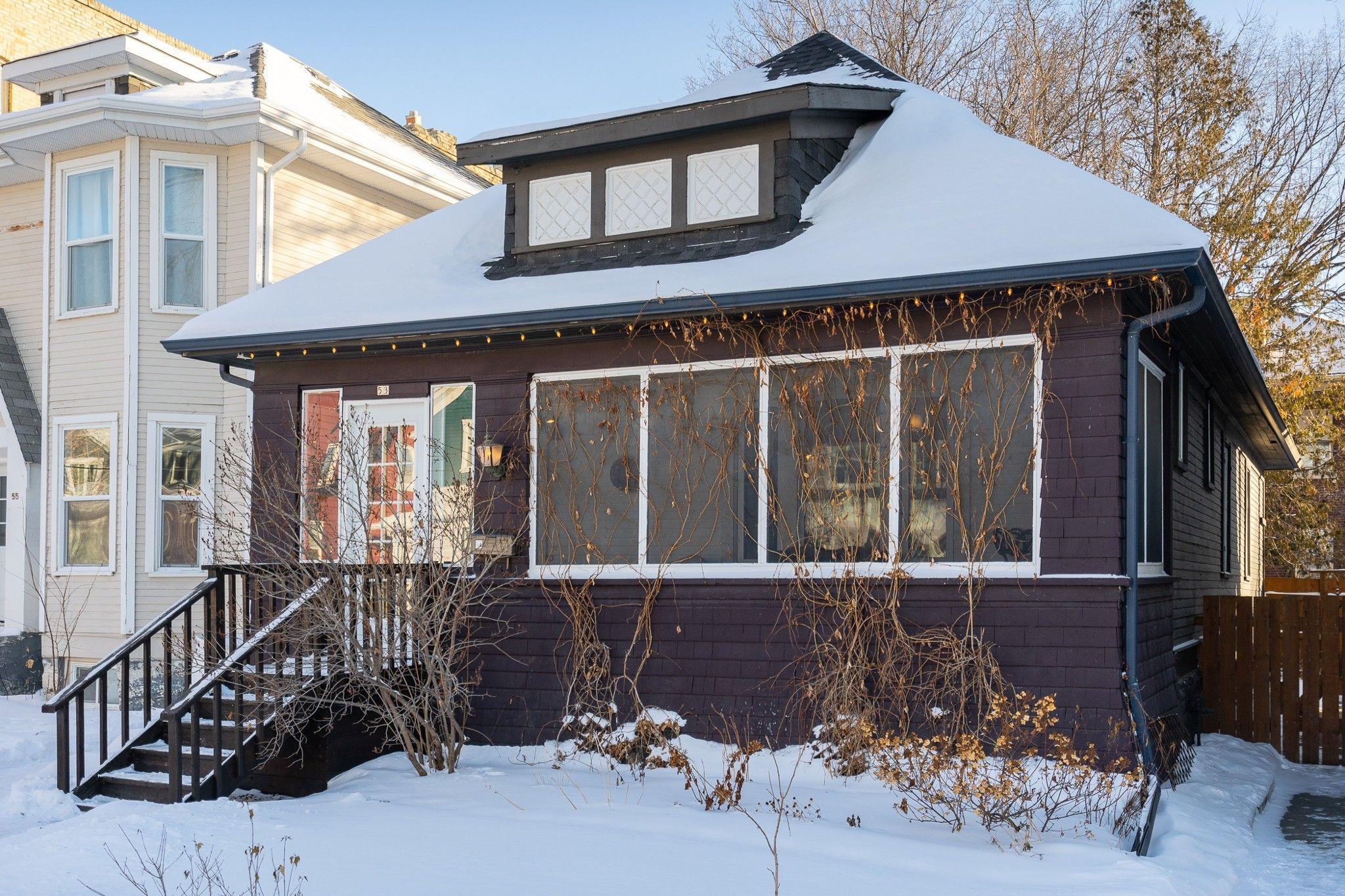 Main Photo: 53 Evanson Street in Winnipeg: Wolseley House for sale (5B)  : MLS®# 202102100