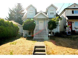 Photo 1: 325 E SIXTH Avenue in New Westminster: The Heights NW House for sale : MLS®# V1141144