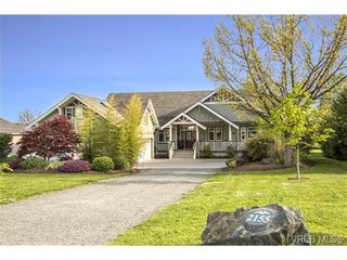 Photo 1: SAANICHTON LUXURY HOME For Sale SOLD in Turgoose, BC Canada: With Ann Watley!