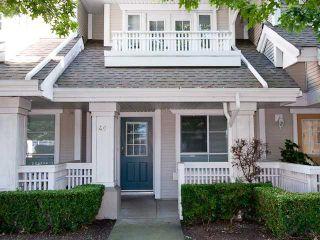 Photo 1: 40 22000 SHARPE Avenue in Richmond: Hamilton RI Townhouse for sale : MLS®# V842082