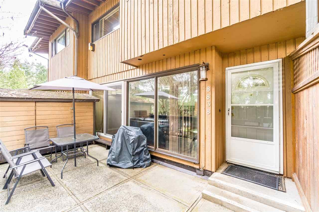 Spacious Sundeck with Storage Shed