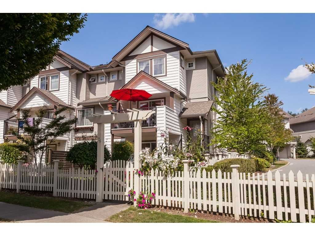 "Main Photo: 76 4401 BLAUSON Boulevard in Abbotsford: Abbotsford East Townhouse for sale in ""THE SAGE"" : MLS®# R2485682"