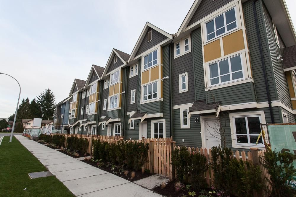 """Main Photo: 19A 14388 103 Avenue in Surrey: Whalley Townhouse for sale in """"THE VIRTUE"""" (North Surrey)  : MLS®# R2033952"""