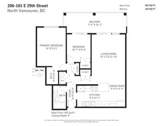 """Photo 28: 206 101 E 29TH Street in North Vancouver: Upper Lonsdale Condo for sale in """"Coventry House"""" : MLS®# R2569721"""