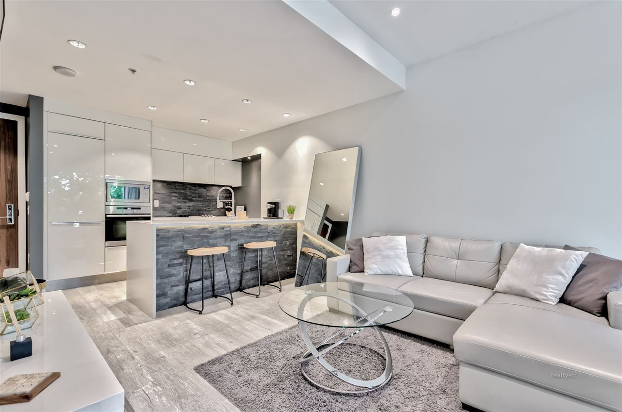 """Main Photo: 203 181 W 1ST Avenue in Vancouver: False Creek Condo for sale in """"BROOK - VILLAGE ON FALSE CREEK"""" (Vancouver West)  : MLS®# R2504203"""