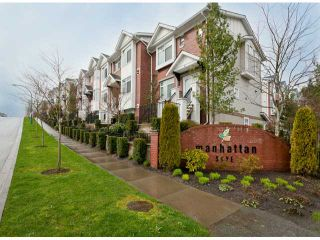 """Photo 1: 6 19551 66TH Avenue in Surrey: Clayton Townhouse for sale in """"Manhattan Skye"""" (Cloverdale)  : MLS®# F1307026"""