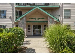 """Photo 1: 407 2435 CENTER Street in Abbotsford: Abbotsford West Condo for sale in """"Cedar Grove Place"""" : MLS®# R2391275"""
