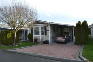 Photo 1: 99 7583 Central Saanich Rd in : CS Hawthorne Manufactured Home for sale (Central Saanich)  : MLS®# 863856