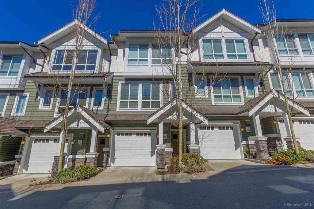 "Main Photo: 108 1460 SOUTHVIEW Street in Coquitlam: Burke Mountain Townhouse for sale in ""CEDAR CREEK"" : MLS®# R2539546"