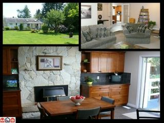 Photo 1: 16909 23RD Avenue in Surrey: Pacific Douglas House for sale (South Surrey White Rock)  : MLS®# F1014660