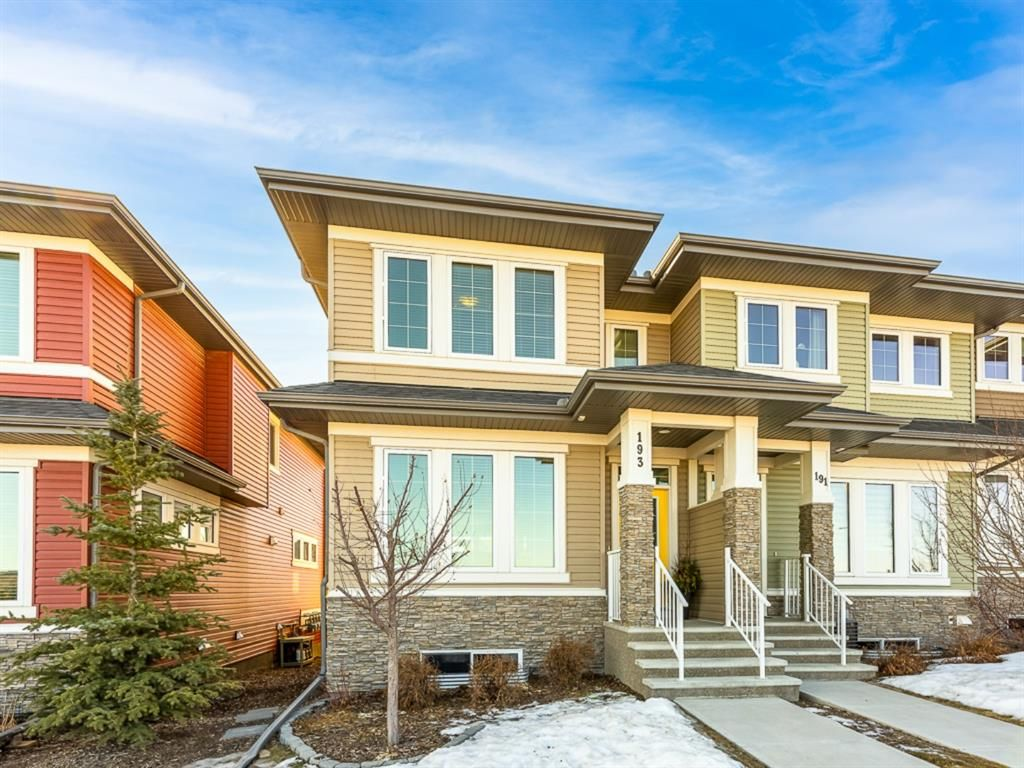 Main Photo: 193 River Heights Drive: Cochrane Row/Townhouse for sale : MLS®# A1083109