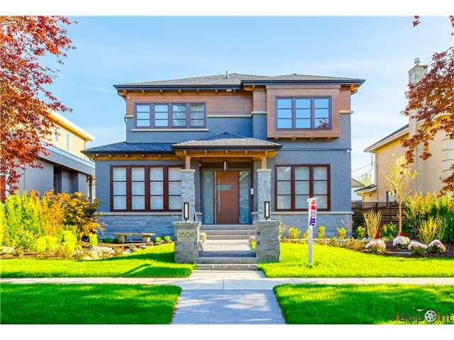 Main Photo: 2608 W 22ND AV in Vancouver: Arbutus House for sale (Vancouver West)  : MLS®# V1062023