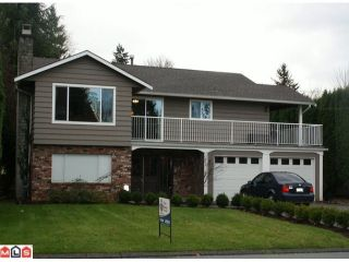 "Photo 1: 34572 LABURNUM Avenue in Abbotsford: Abbotsford East House for sale in ""Bateman"" : MLS®# F1027944"