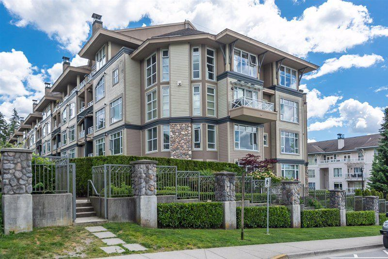 """Main Photo: 201 3600 WINDCREST Drive in North Vancouver: Roche Point Townhouse for sale in """"Windsong At Raven Woods"""" : MLS®# R2377804"""