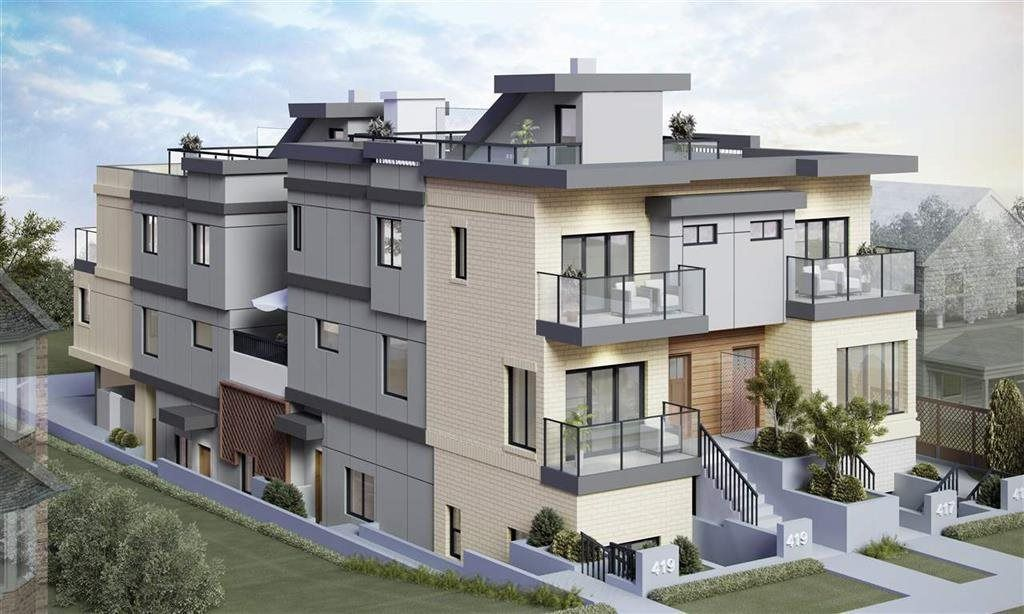 """Main Photo: 2 419 E 2ND Street in North Vancouver: Lower Lonsdale Townhouse for sale in """"Nest 4 Living"""" : MLS®# R2586167"""