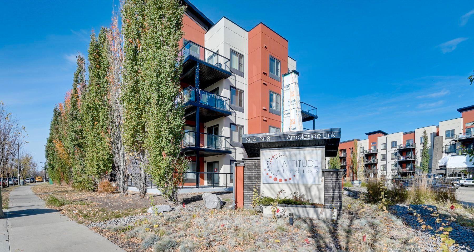 Main Photo: 243 308 AMBLESIDE Link in Edmonton: Zone 56 Condo for sale : MLS®# E4260650
