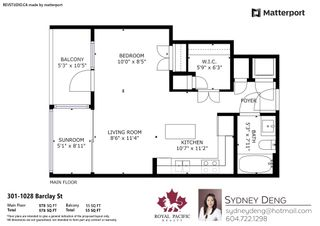 """Photo 26: 301 1028 BARCLAY Street in Vancouver: West End VW Condo for sale in """"PATINA"""" (Vancouver West)  : MLS®# R2601124"""