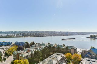 Photo 1: 1501 1065 QUAYSIDE DRIVE in New Westminster: Quay Condo for sale : MLS®# R2518489