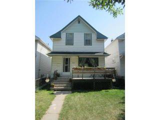 Photo 1: 927 Banning Street in WINNIPEG: West End / Wolseley Residential for sale (West Winnipeg)  : MLS®# 1218050
