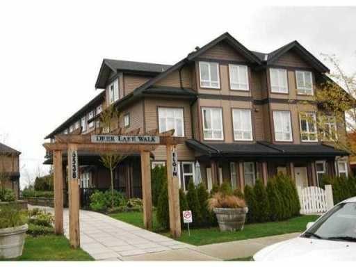 "Main Photo: 20 6538 ELGIN Avenue in Burnaby: Forest Glen BS Townhouse for sale in ""DEAR LAKE WALK"" (Burnaby South)  : MLS®# V856402"