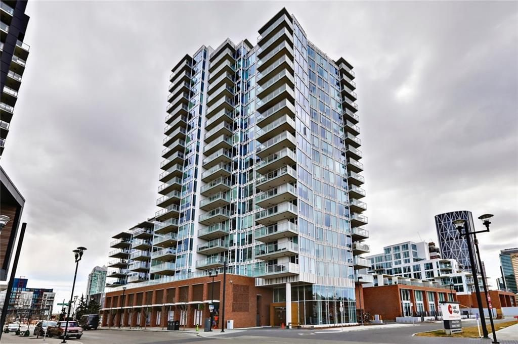 Main Photo: 405 519 Riverfront Avenue SE in Calgary: Downtown East Village Apartment for sale : MLS®# A1081632
