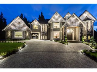 Photo 1: 1025 THOMSON Road: Anmore House for sale (Port Moody)  : MLS®# V1090116