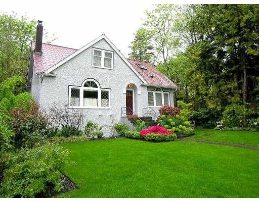Main Photo: 6009 ELM ST in Vancouver: Kerrisdale House for sale (Vancouver West)  : MLS®# V588285