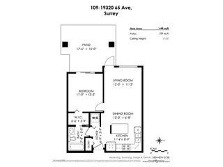 "Photo 19: 109 19320 65 Avenue in Surrey: Clayton Condo for sale in ""ESPIRIT"" (Cloverdale)  : MLS®# R2367383"