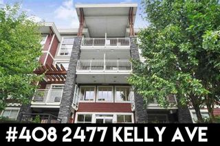 Photo 4: 408 2477 KELLY AVENUE in Port Coquitlam: Central Pt Coquitlam Home for sale ()  : MLS®# R2311710
