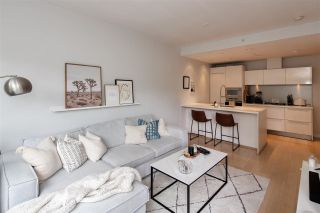 """Photo 3: 403 181 W 1ST Avenue in Vancouver: False Creek Condo for sale in """"BROOK AT THE VILLAGE AT FALSE CREEK"""" (Vancouver West)  : MLS®# R2576731"""
