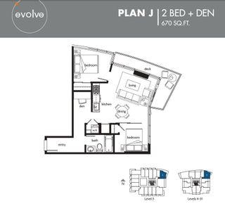 "Photo 2: 1312 13308 103A Avenue in Surrey: Whalley Condo for sale in ""Evolve"" (North Surrey)  : MLS®# R2219285"