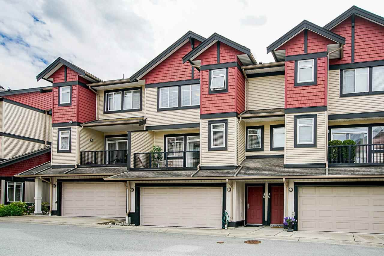 """Main Photo: 35 7168 179 Street in Surrey: Cloverdale BC Townhouse for sale in """"Ovation"""" (Cloverdale)  : MLS®# R2592743"""