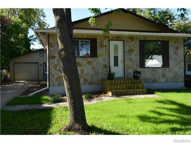 Gorgeous home! Double garage has a single garage door. Great location