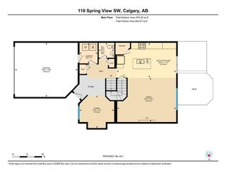 Photo 34: 110 Spring View SW in Calgary: Springbank Hill Detached for sale : MLS®# A1074720