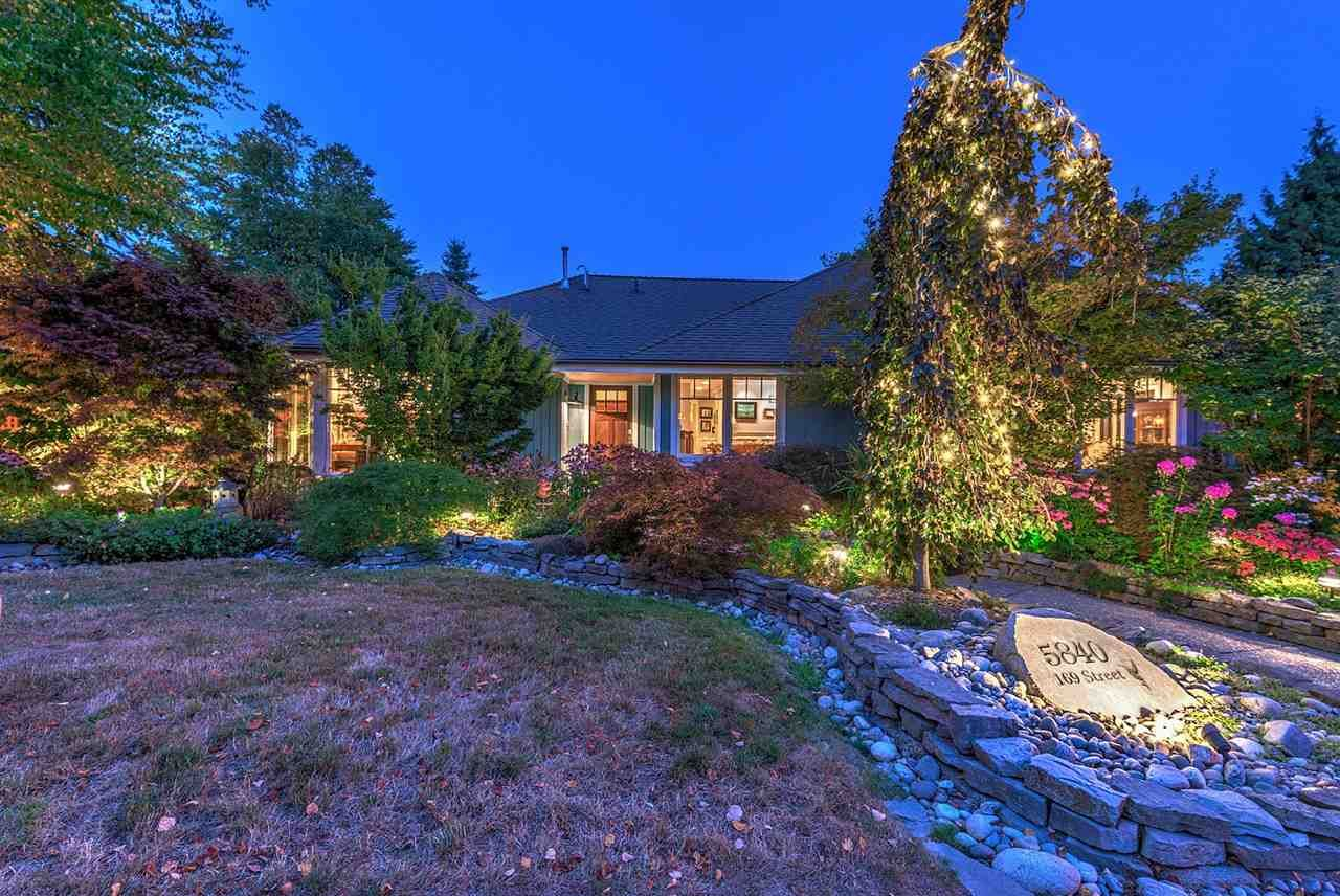 """Main Photo: 5840 169 Street in Surrey: Cloverdale BC House for sale in """"Richardson Ridge"""" (Cloverdale)  : MLS®# R2310645"""